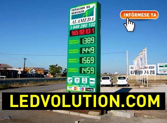Monolitos de gasolineras